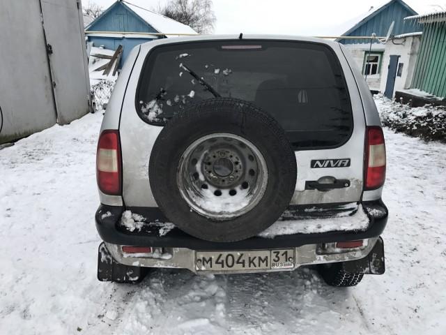Niva Chevrolet 2007 г.в  / Лот #0002