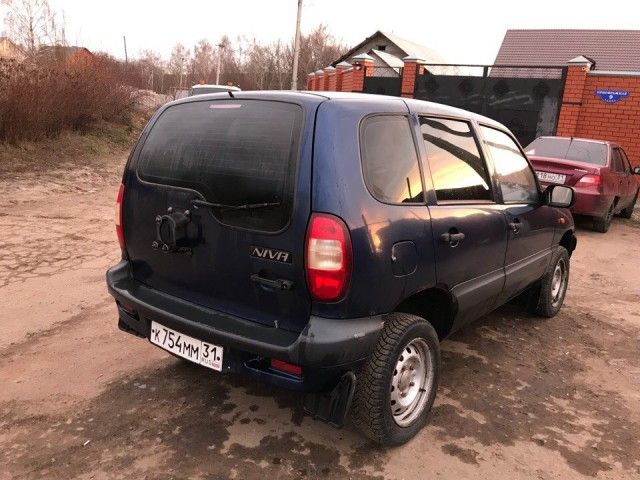 Niva Chevrolet (Нива Шевроле) 2007 г.в  / Лот #0059